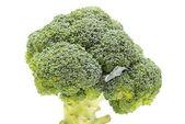 Fraîche brocoli vert sur fond blanc — Photo