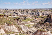 The Canadian Badlands of Drumheller, Alberta — Stock Photo