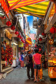 Famous Old Street of Jiufen in Taiwan — Stock Photo