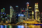 Singapore's Central Business District — Stock Photo