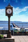 Centennial Clock in White Rock, British Columbia, Canada — Stock Photo