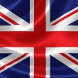 Close up of the Flag of United Kingdom — Stock Photo