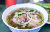 Vietnamese Pho Beef Noodle Soup  — Stock Photo