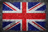 UK Flag Painted on Concrete — Stock Photo