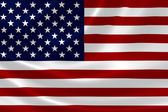 Close up of USA flag — Stock Photo