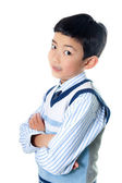 Asian Boy Posing — Stock Photo