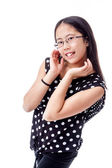 Adorable Tween Girl With Cute Pose — Stock Photo