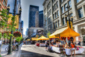 Stephen Avenue Walk in Calgary, Canada — Foto Stock