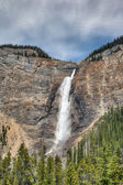 Takakkaw Falls in Canadian Rockies — Stock Photo