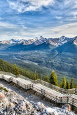 Sulphur Mountain in Banff, Alberta, Canada — Stock Photo