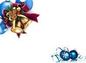 Christmas Bells and Baubles — 图库照片
