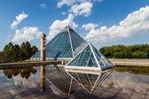 Glass Pyramids in Edmonton, Alberta, Canada — Stock Photo