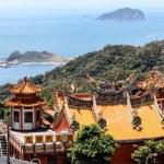 Chinese Temple in Jiufen, Taiwan — Stock Photo #50676965
