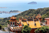 Chinese Temple in Jiufen, Taiwan — Stock Photo