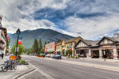 Townsite in Banff National Park, Canada — Stock Photo