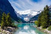 Beautiful Lake Louise  — Stock Photo