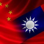 Merged Flag of China and Taiwan — Stock Photo #51007153