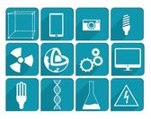 Collection Science icons — Stock Vector