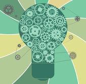 Creative idea vector illustration — Stock Vector