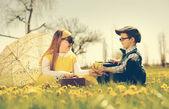 Little romance — Stock Photo
