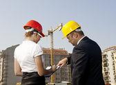Arquitectura y construcción — Foto de Stock