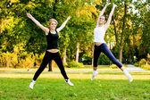 Recreational exercise — Foto Stock