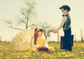 Kleine Romanze — Stockfoto