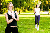 Recreational exercise — Stock Photo