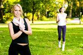 Recreational exercise — Foto de Stock