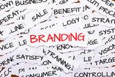 Branding — Stock fotografie