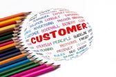 Customer — Foto Stock