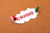 Krize — Stock fotografie