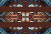 Architektoniczne tło — Zdjęcie stockowe