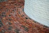 Lighthouse Brick Walkway — Stock Photo
