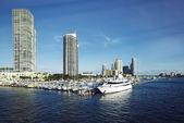 Miami Beach Marina — Stock Photo