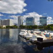 Постер, плакат: Orlando Skyline Lake Eola