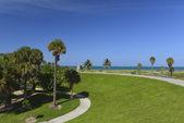 Miami South Beach tropical paradise — Stock Photo
