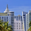 Miami Beach Art Deco Hotels — Stock Photo #49565337