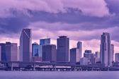 Rain in Miami — Stock Photo
