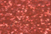 Defocused abstract hearts light background — ストック写真