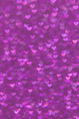 Defocused abstract hearts light background — Stock Photo