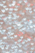 Defocused abstract hearts light background — Foto de Stock