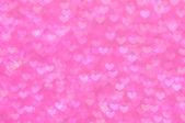 Defocused abstract pink hearts light background — Zdjęcie stockowe