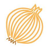 Zwiebelpflanze — Stockvektor