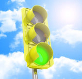 The traffic light — Stock Photo