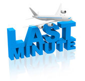 Last minute flight — Foto de Stock