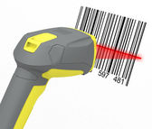 Barcode reader — Stockfoto