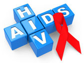 Hiv and aids — Stock Photo