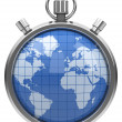 The world stopwatch — Stockfoto