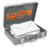 Spam mails — Stock Photo